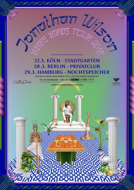 Jonathan Wilson – Rare Birds Tour 2018