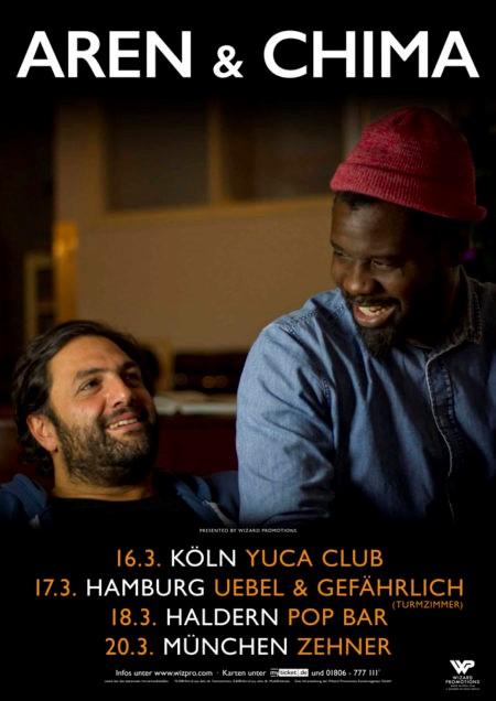 AREN & CHIMA Von Nun An Glücklich Tour 2018
