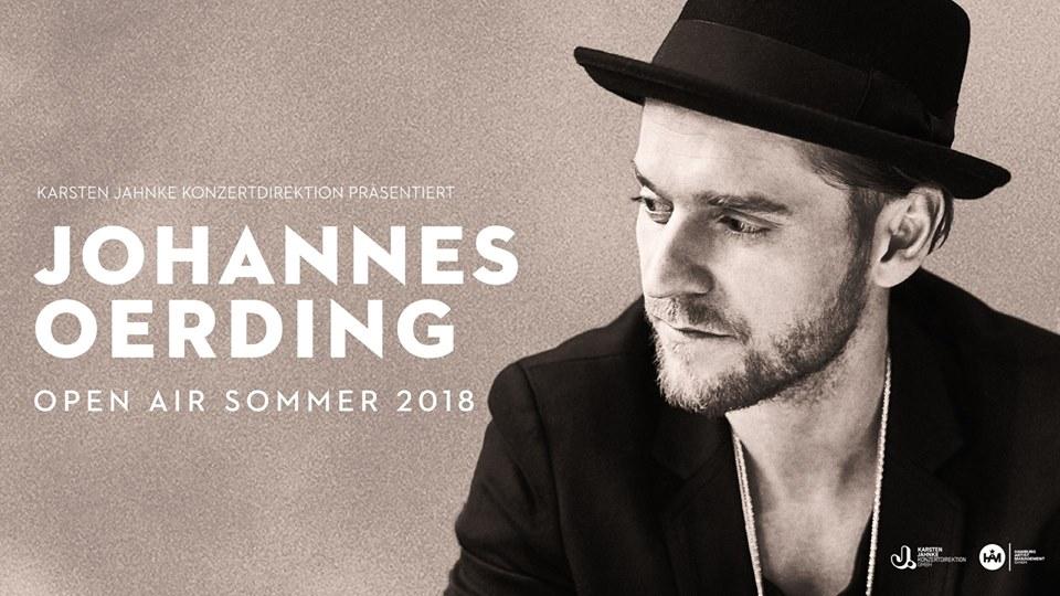 Johannes Oerding // Hamburg –  AUSVERKAUFT
