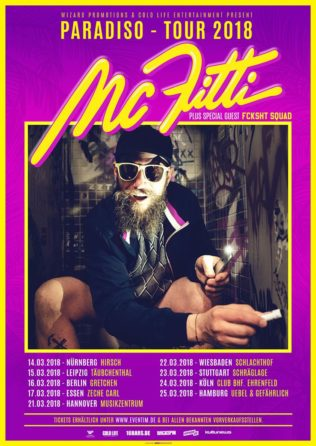 MC Fitti/  Paradiso- Tour 2018