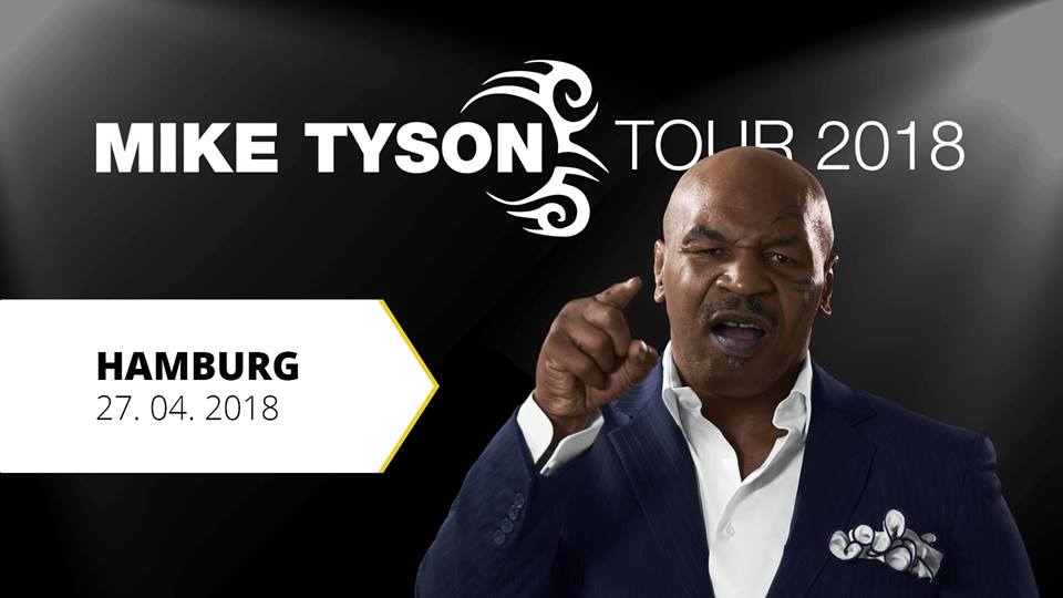 Mike Tyson in Hamburg