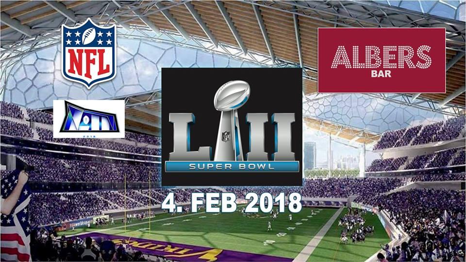 Superbowl LII Albers Bar 04/02