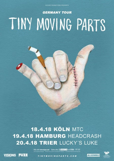 TINY MOVING PARTS Germany Tour 2018
