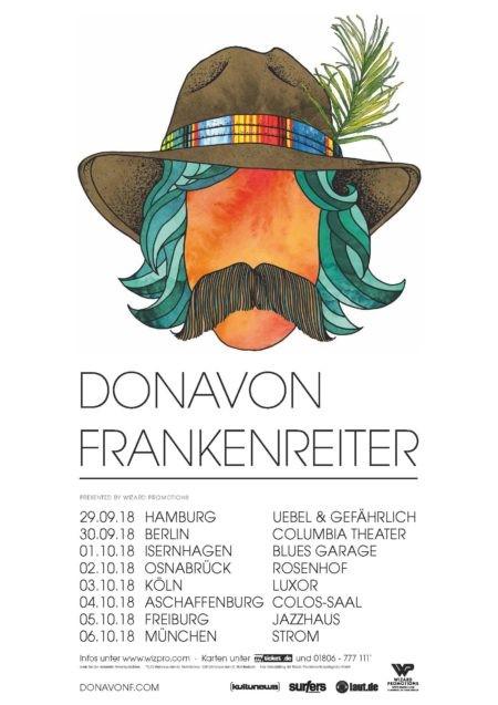DONAVON FRANKENREITER Live 2018