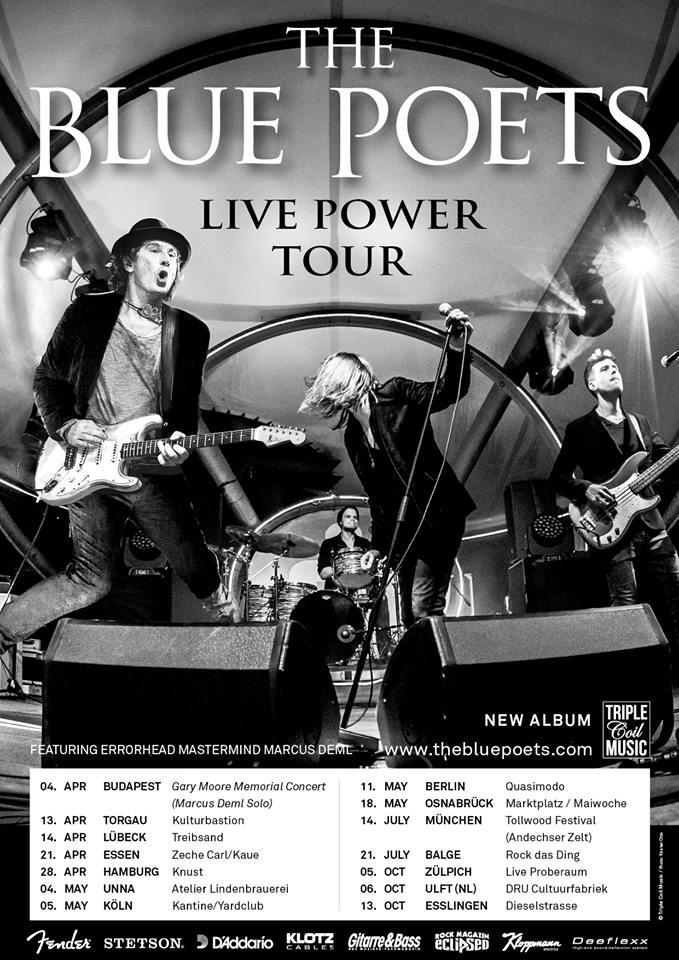 The Blue Poets Live Power Tour