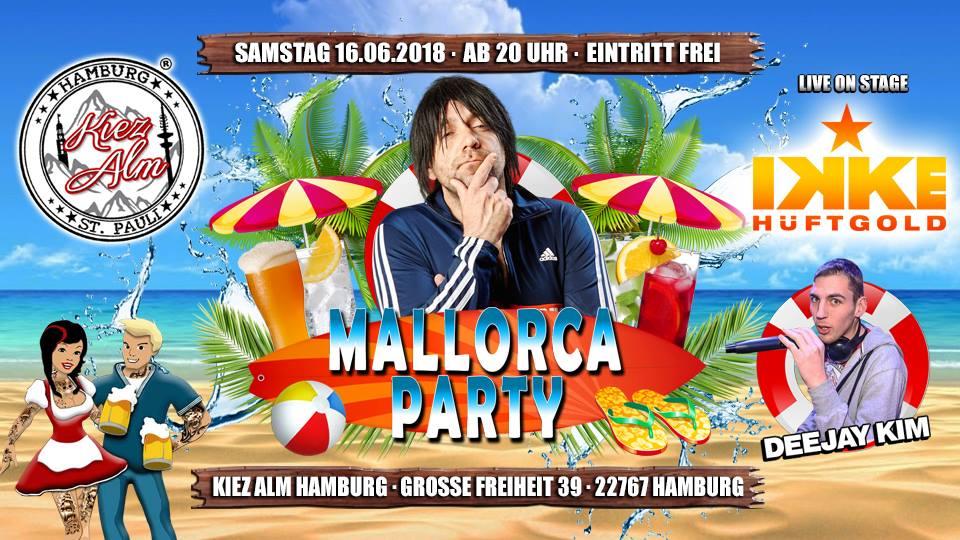KIEZ ALM – Mallorca Party (Ikke Hüftgold Live)