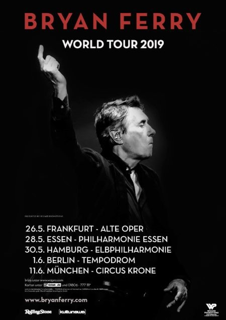 Bryan Ferry – World Tour 2019