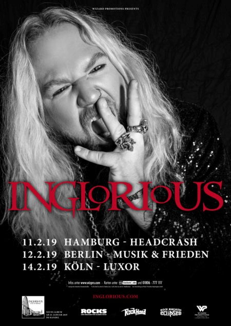 Inglorious – Live 2019