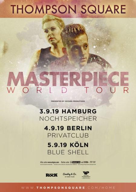 Thompson Square – Masterpiece World Tour 2019